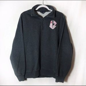 Tops - Delta Zeta Pullover With Lily Pulitzer Letters
